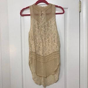 Beautiful free people lace tunic!